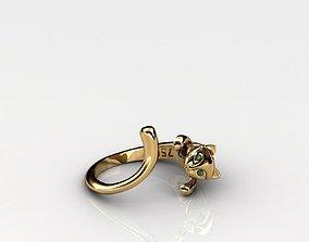 Cat Ring 3D printable model fashion