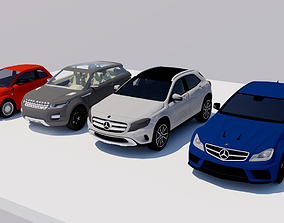 CARS HIGH DEFINITION 3D model