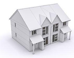 Townhouse 01 3D model