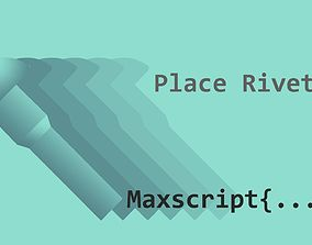 Place Rivets 3D model