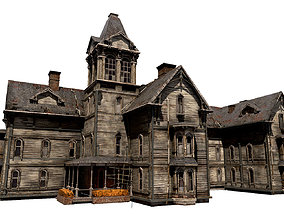Old Abandoned House 3 3D asset realtime