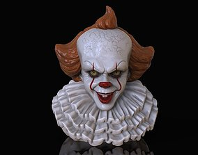 horror PENNYWISE CLOWN IT2 3D print model