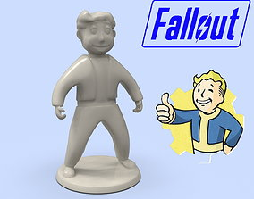 Fallout Vault Boy standard model for 3D printing