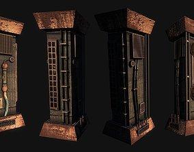 3D model Cyberpunk Pillar