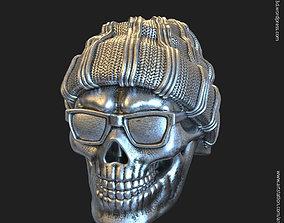 Skull Gangster vol1 Ring 3D printable model