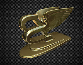 3D bentley hood ornament