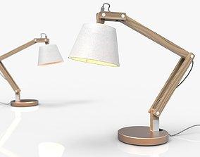 Scandinavian Desk Lamp 3D
