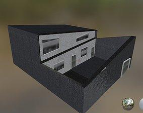 3D model modren house