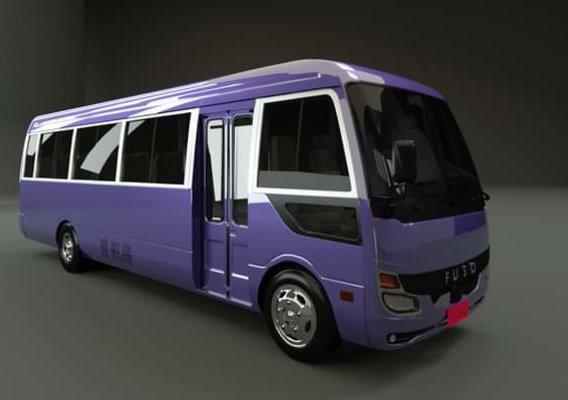 Mitsubishi Rosa 2020 3d model
