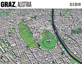 3D model Graz Austria