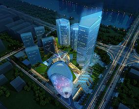 urban-skyscraper Skyscraper Business Center 3D