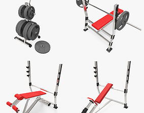 3D model Gym Collection