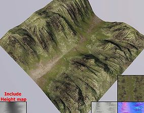 3D model Lowpoly Terrain MT006