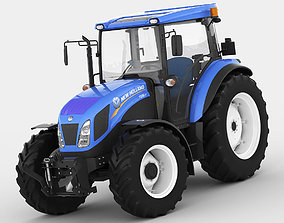 3D model New Holland TD5 tractor