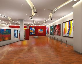 Art Gallery Showroom 3D model