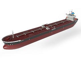 3D model VR / AR ready Tanker Panamax 245m