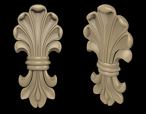 Carved CNC 3D print model 3D print model