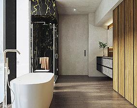 hanger Bathroom PBR 3D