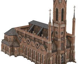 Church 03 3D asset