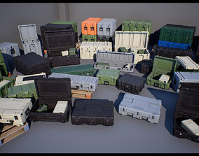 Military Cases Pack UE4 Unity 3D asset