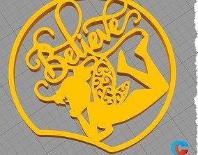Disney Inspired Mouse Ear - Tinker 3D printable model 1