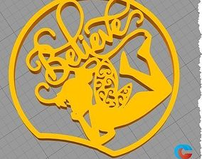 Disney Inspired Mouse Ear - Tinker 3D printable model 1