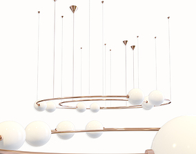 Pendant Light Oddments Dual 3D model