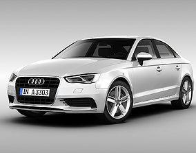 Audi A3 Sedan 2014 3D model