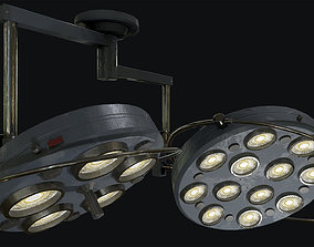 Large Operating Lamp 3D asset