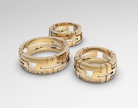 Set of different size Parentesi replicas 3D print model