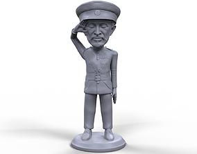 Haile Selassie stylized high quality 3D printable