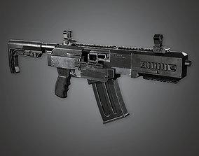 MSG - FPS Modern Shotguns - Vita Mortem - PBR 3D model 1