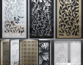 3D Decorative screens 02