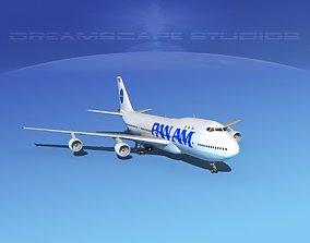 Boeing 747-100 Pan Am 2 3D model