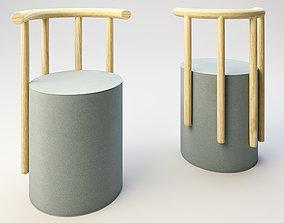 3D model Radial Chair