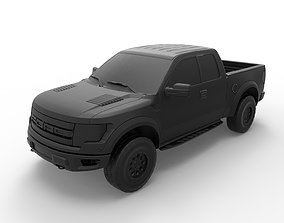 3D print model Ford F-150 Raptor