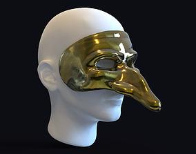 3D print model Venetian carnival mask