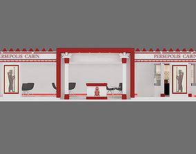 exhibition stand 05 3D