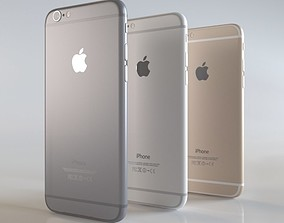 apple iPhone 6 3D model model
