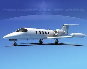 Gates Bombardier Learjet 35 V01 3D model