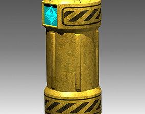 High-Tech Barrel 3D model
