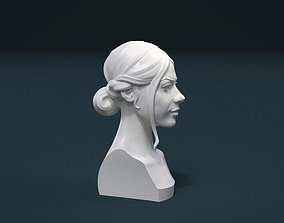 3D print model beauty Woman Hair Style