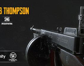 M1928a1 Thompson 3D asset