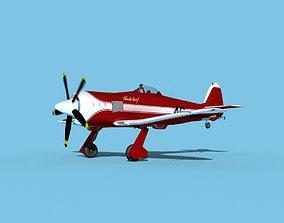 Hawker Sea Fury V24 Racer 3D