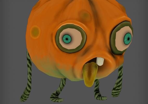 Pumpkim Zombie