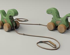 3D asset Children Toy Dinosaur
