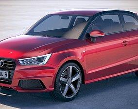 3D Audi A1 S-line 2017