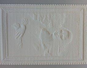 3D printable model Mona Lisa Lithophane