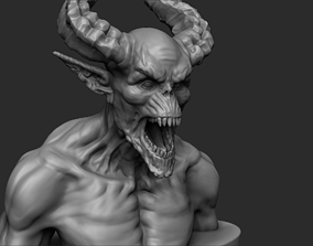 Demon - 3D printing ready