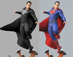 Superman stl printable statue justice